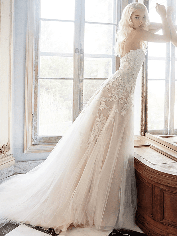 A-Line Wedding Dress - Alvina Valenta