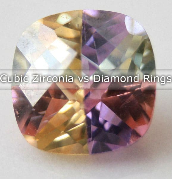 cubic zirconia vs diamond