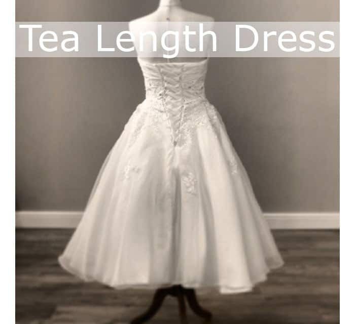 tea length dresses
