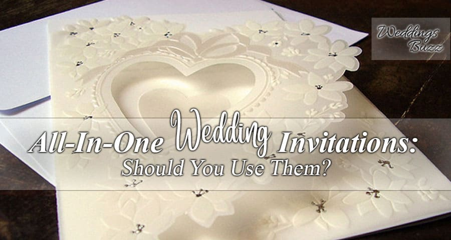 all in one wedding invitation card