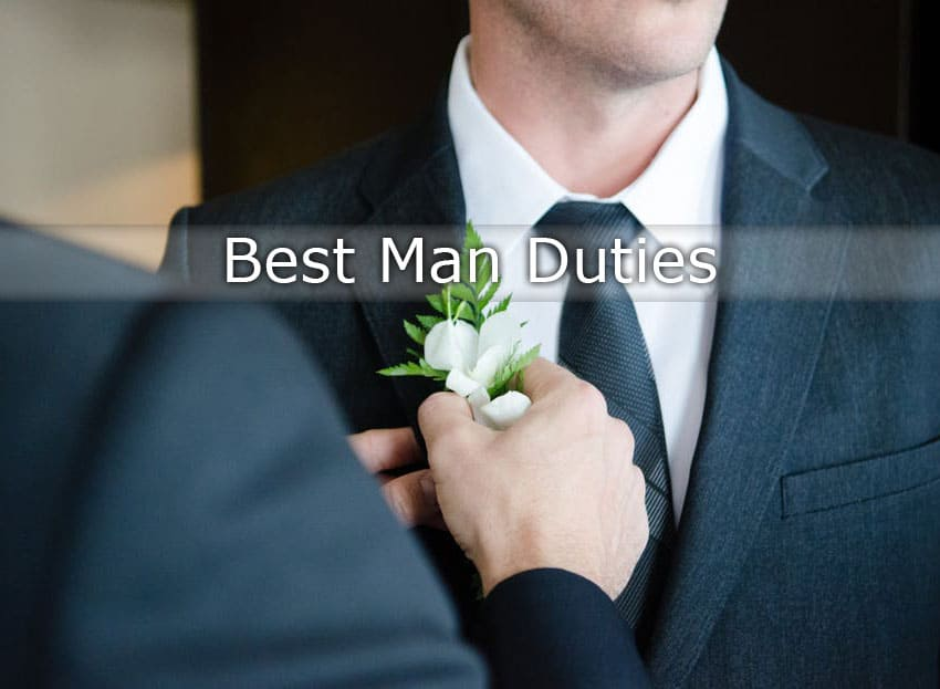 best man duties