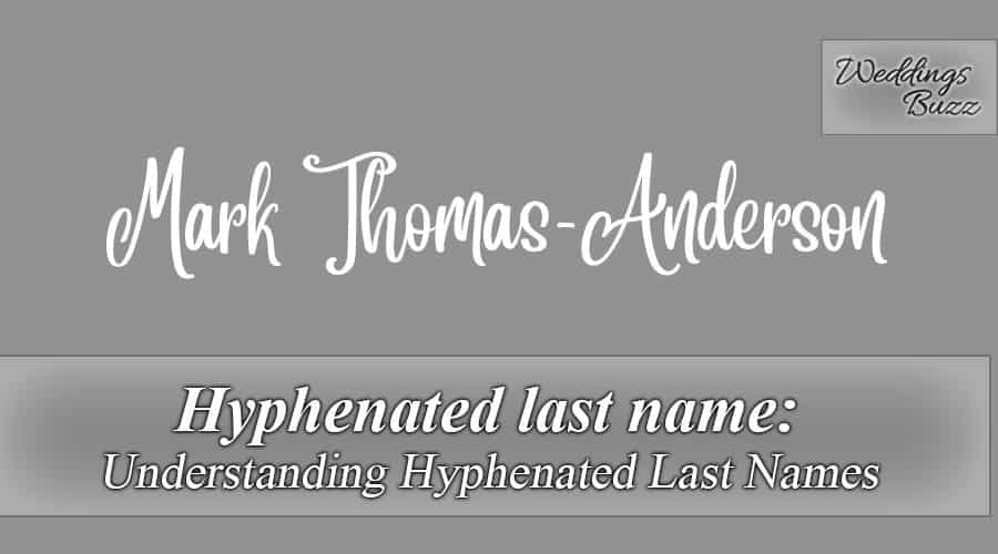 Hyphenated Last Name Should You Change Your Name After