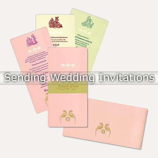 When To Send Wedding Invitations : Planning Everything