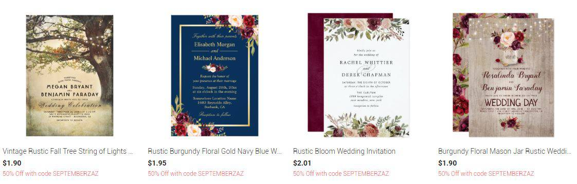 zazzle invitation cards