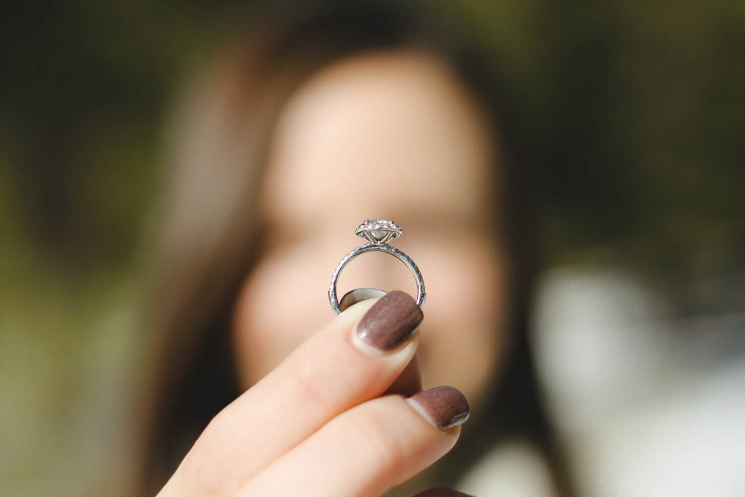 ring blurred background