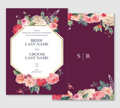 Vistaprint wedding invite