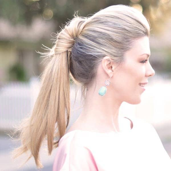 Classic Twist bridesmaid hairstyle