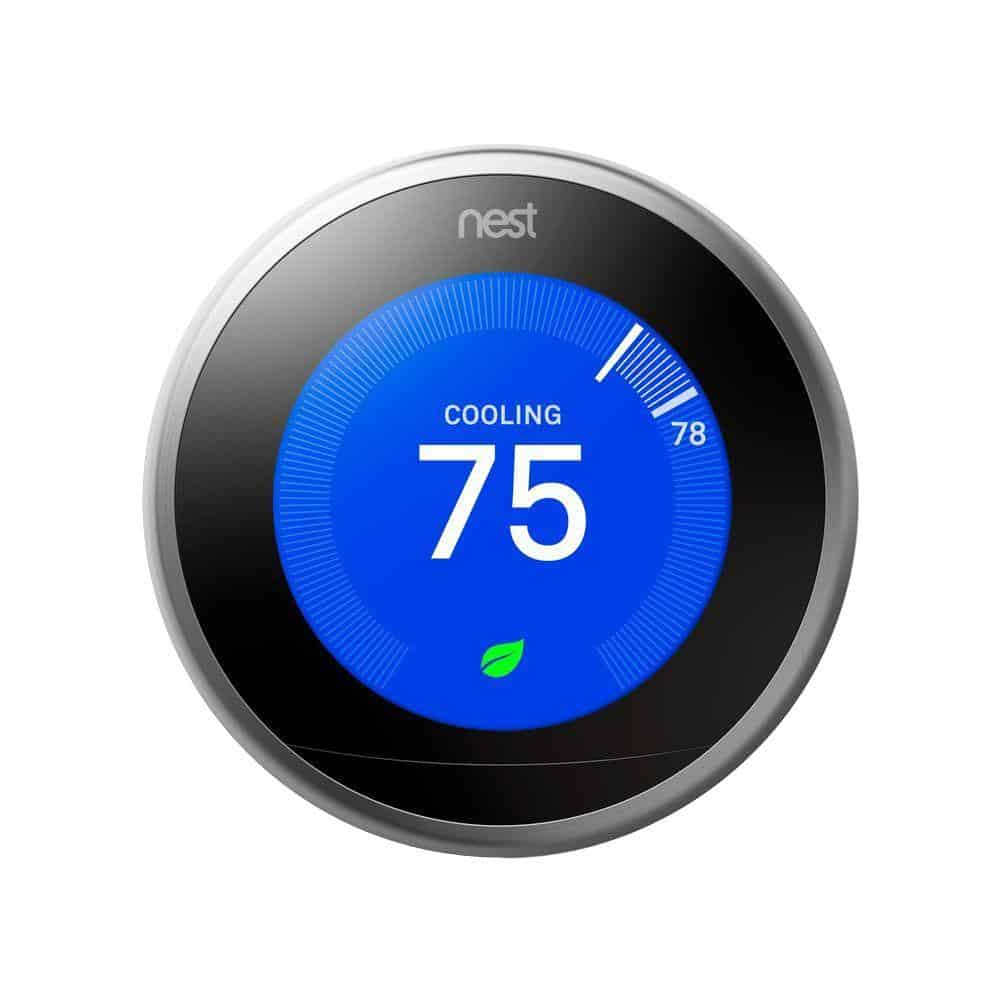 Nest 3rd Generation Smart Learning Wi-Fi Programmable Thermostat
