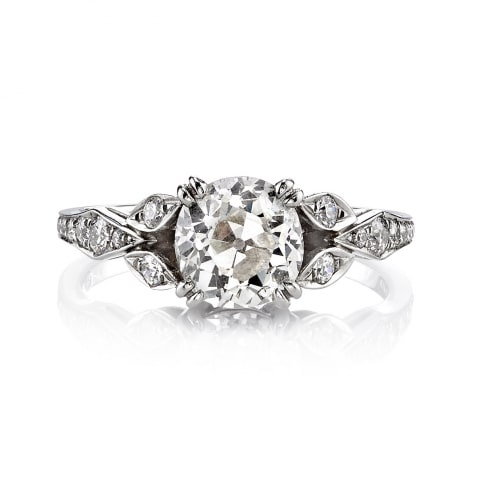 "Single Stone ""Ella"" Diamond Ring"