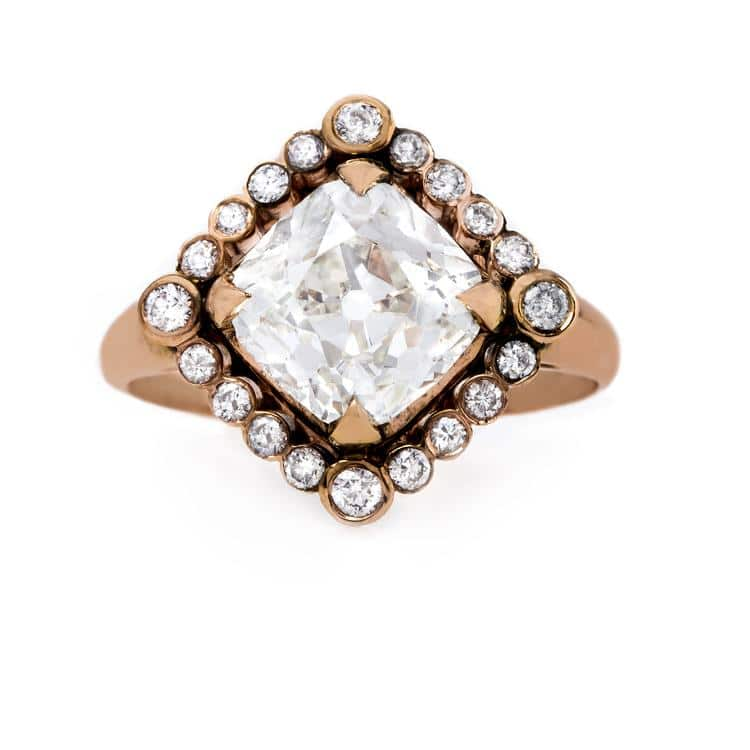 Trumpet & Horn Claire Pettibone Couture Collection Byzantine Diamond Ring