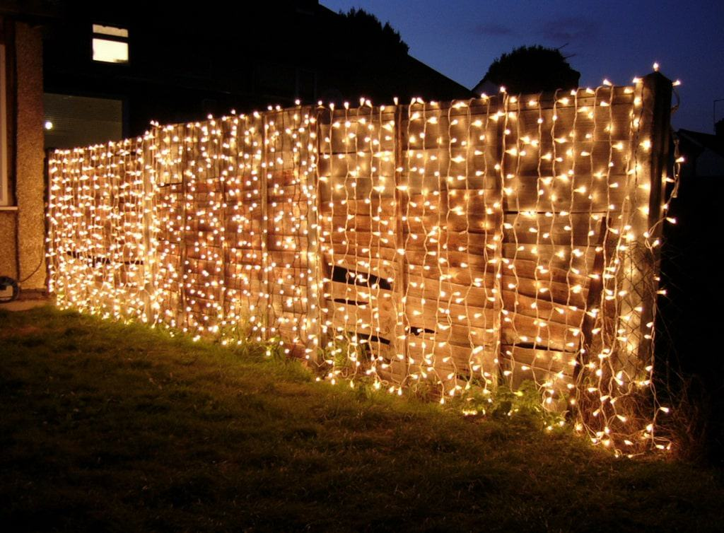 weave string lights
