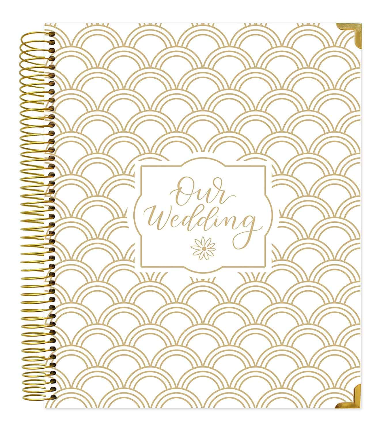 Bloom Daily Planners Undated Wedding Calendar Planner & Organizer
